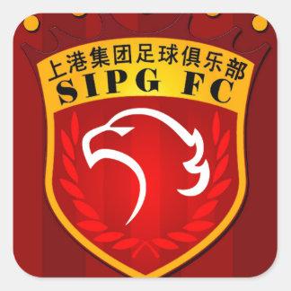 Shanghai SIPG F.C. Square Sticker