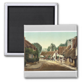 Shanklin, old village, Isle of Wight, England rare Square Magnet