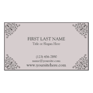 Shannon Business Card Templates