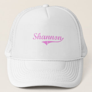 Shannon Last Name Classic Style Trucker Hat