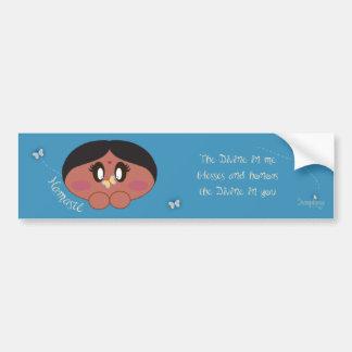 Shanti's Namaste Bumper Sticker