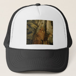 shape and form of rock trucker hat