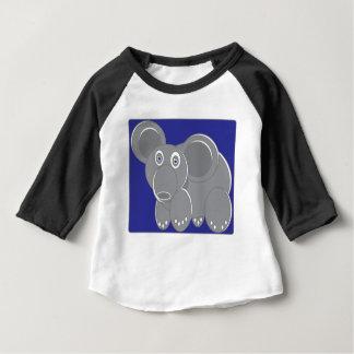 Shape Made Elephant Baby T-Shirt