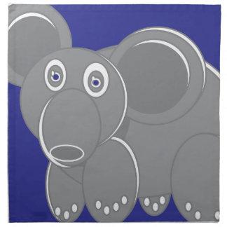 Shape Made Elephant Napkin