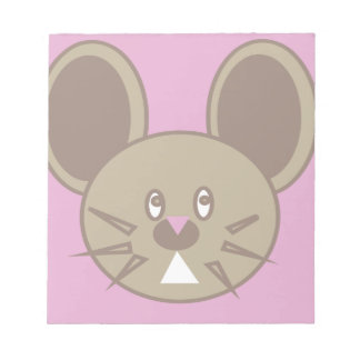 Shape Made Mouse Notepad
