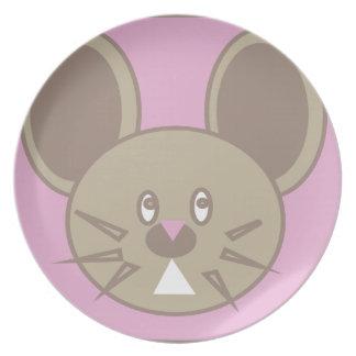 Shape Made Mouse Plate