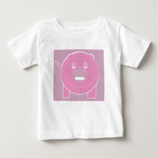 Shape Made Pig Baby T-Shirt