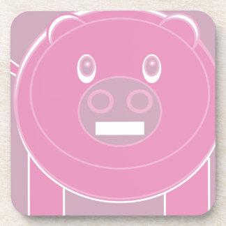 Shape Made Pig Coaster