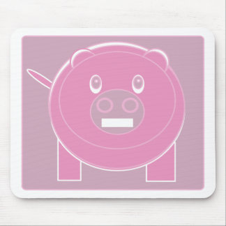Shape Made Pig Mouse Pad