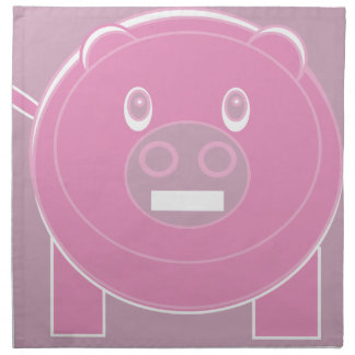 Shape Made Pig Napkin