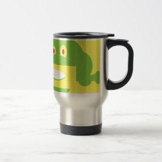 Shape Made Snake Travel Mug