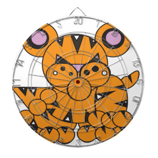 Shape Made Tiger Dartboard