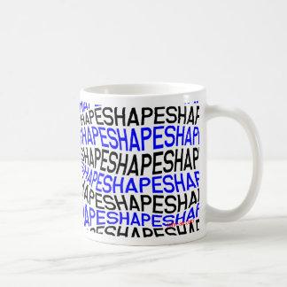 shape basic white mug