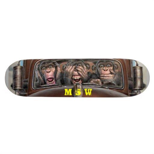 Shape Nada I know Skateboard Deck