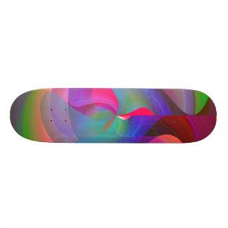 Shape Shifting Skateboard Deck