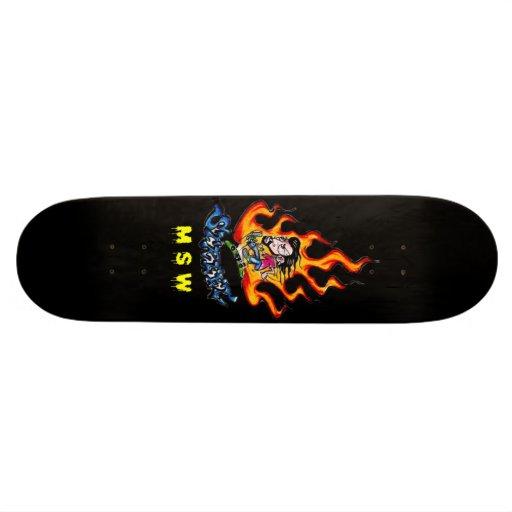 Shape Street Flame Skate Boards