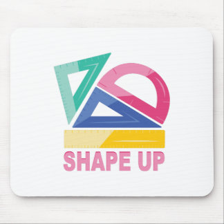 Shape Up Mouse Pad