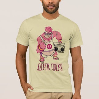 shAPE UP! ZOMG Pink Gorilla T-shirt