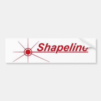 Shapeline Car sticker Bumper Sticker