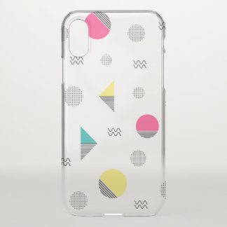 Shapes and Colors iPhone X Case