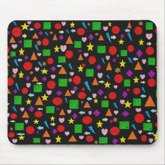 Shapes and Patterns Mousepad