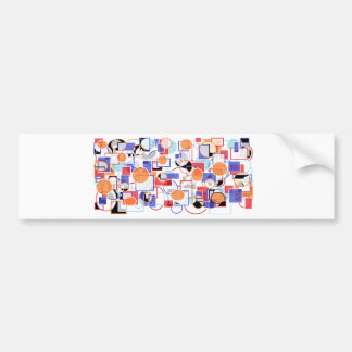 shapes bumper stickers