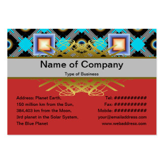 Shapes Business Card