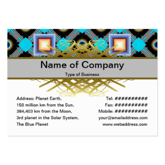 Shapes Business Card Template