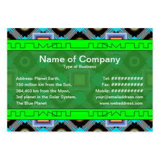 Shapes Pack Of Chubby Business Cards