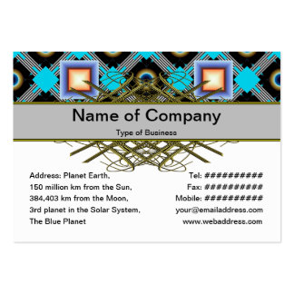 Shapes Business Card Templates
