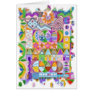 Shapes Greeting Card
