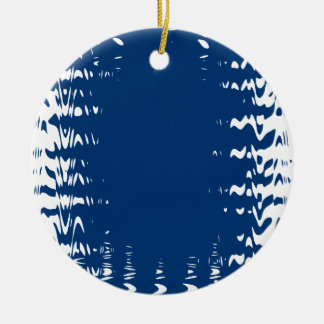 shapes christmas ornament