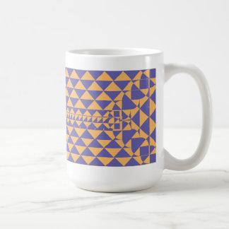 Shapes Design Coffee Mug