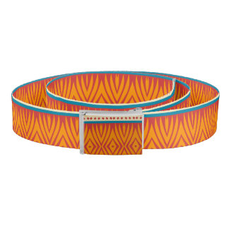Shapes in retro colors belt