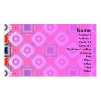 Shapes Inverted Double-Sided Standard Business Cards (Pack Of 100)