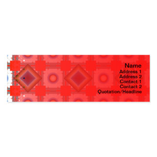 Shapes Inverted Rotated Pack Of Skinny Business Cards