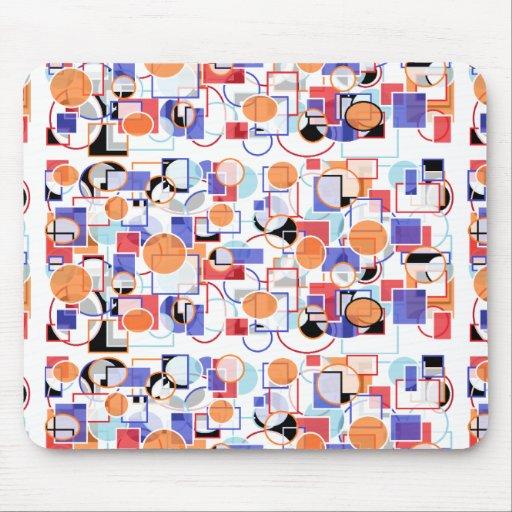 shapes mousepad