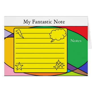 Shapes Note Note Card