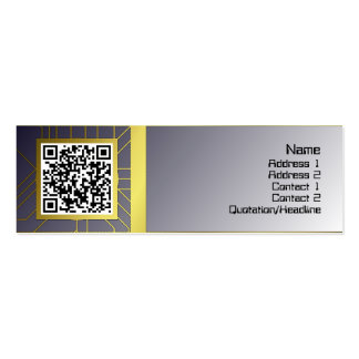 Shapes Pack Of Skinny Business Cards