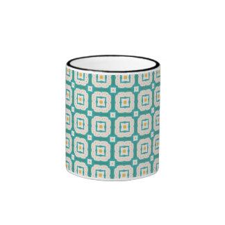 Shapes pattern coffee mug