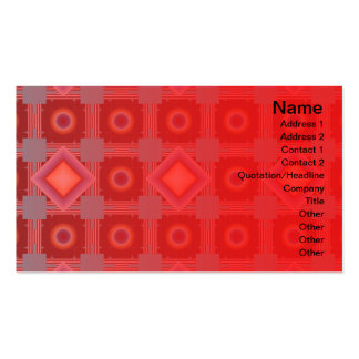 Shapes Rotated Pack Of Standard Business Cards