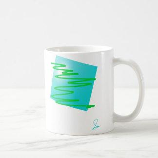 Shapes Translucent Basic White Mug