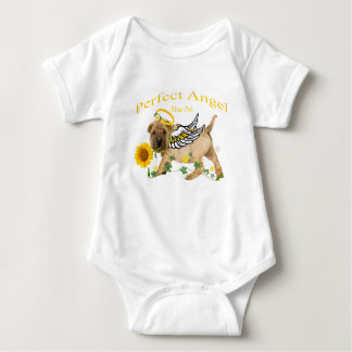 Shar-pei Angel Baby shirts