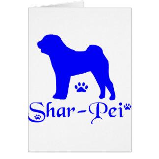 SHAR PEI CARD