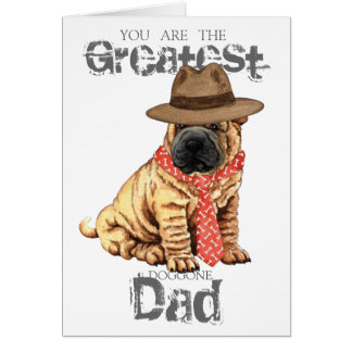 Shar-Pei Dad Card