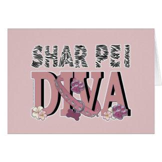 Shar Pei DIVA Card