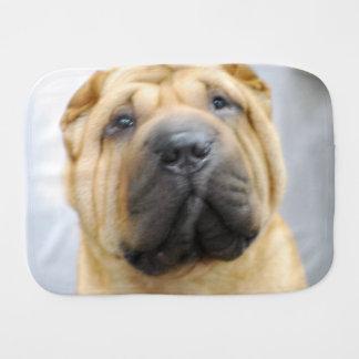 Shar-Pei Dog Burp Cloths