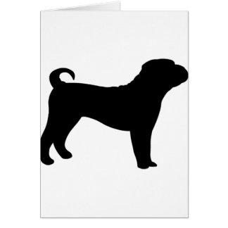 Shar Pei Dog Card