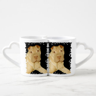 Shar Pei Dog Lovers Mug Set
