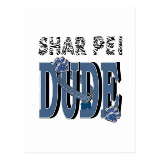 Shar Pei DUDE Postcard
